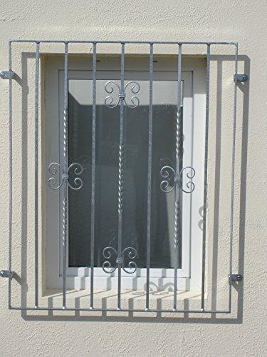 Sixone Fenstergitter Mercur Sicherheitsgitter Gitter Fenster Feuerverzinkt 1070x1055 mm