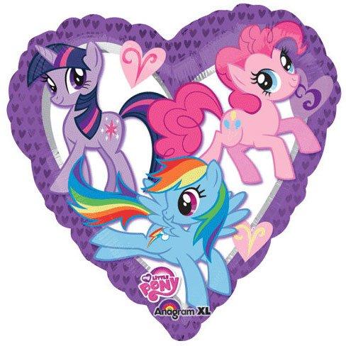 imagen de colorido adorable mi pequeño potro 18 en forma de corazón