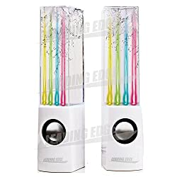 Leading Edge Water Dancing Speakers (WHITE)