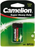 Camelion E-Block Pile Zinc Carbone universel 9 V 400 mAh