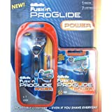 Gillette Fusion ProGlide Power Razor with 7 Cartridges (Bladesby Gillette
