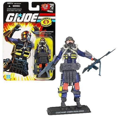 G.I. Joe 25th Anniversary Cobra Paratrooper Figure
