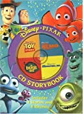 Disney/Pixar CD Storybook: Finding Nemo, Monsters, Inc., A Bugs Life, Toy Story -- Includes 4 Stories and 8 Rhymes (Book and Audio CD)