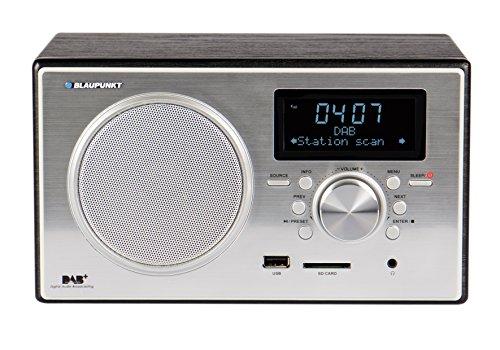 BLAUPUNKT-RXD-35-BK-digitales-DAB-und-Radio-USB-SD-Kartenleser-Weckerfunktion-schwarz