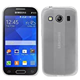 Samrick Slimline Hydro Gel Protective Case for Samsung Galaxy Ace 4 - Clear Transparent