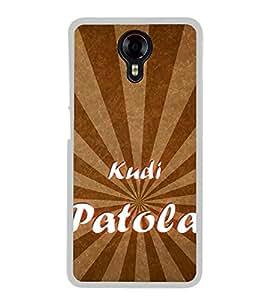 Kudi Patola 2D Hard Polycarbonate Designer Back Case Cover for Micromax Canvas Xpress 2 E313