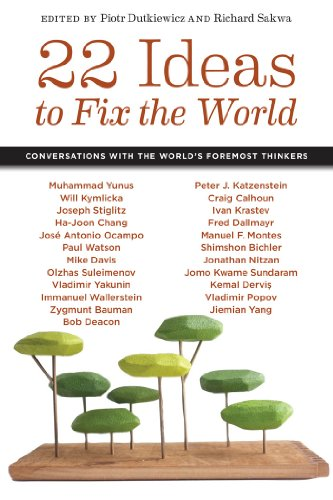 22 Ideas To Fix The World: Conversations With The World'S Foremost Thinkers (Social Science Research Council)