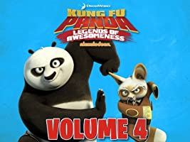 Kung Fu Panda: Legends of Awesomeness Volume 4