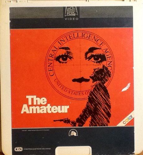 The Amateur ~ Collectible Format ~ CED ~ Capacitance Electronics Disc ~ Rated R - 1