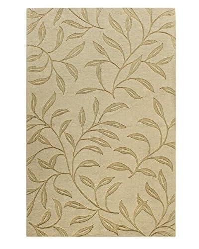 "Bashian Wool Tufted Rug, Light Gold, 5' x 7' 6"""