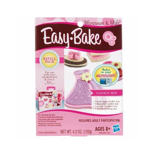 Easy Bake Microwave & Style Cookie Mix