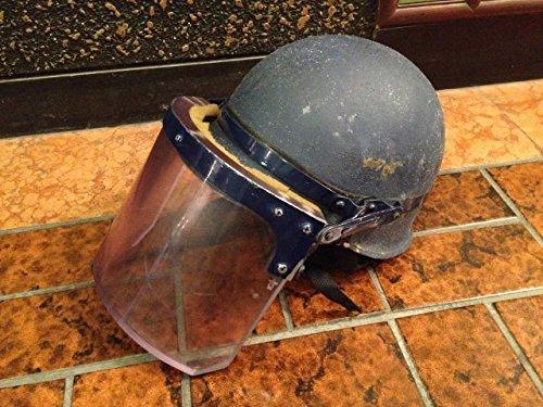 中古 旧警察防爆・防弾ヘルメット