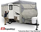 Expedition RV Trailer Cover Fits Travel Trailer 24' - 27' RVs