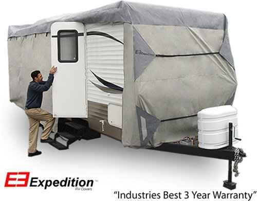 Expedition RV Trailer Cover Fits Travel Trailer 20' - 22' RVs