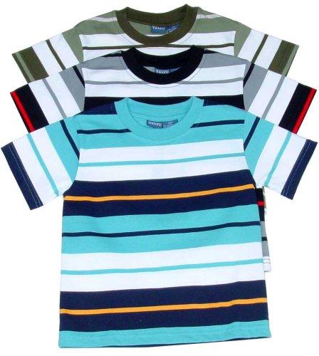 Boys' Short Sleeve Striped Crewneck - Buy Boys' Short Sleeve Striped Crewneck - Purchase Boys' Short Sleeve Striped Crewneck (French Toast, French Toast Boys Shirts, Apparel, Departments, Kids & Baby, Boys, Shirts, Boys Shirts)