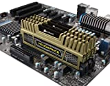 Corsair Vengeance Green 16GB (4x4GB)  DDR3 1600 MHz (PC3 12800) Desktop Memory (CMZ16GX3M4X1600C9G)