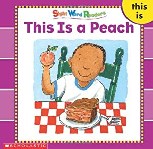 word Word library sight a (Sight Word (Sight Readers)  Library) Is books This Peach
