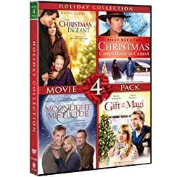 Holiday Collection Movie 4 Pack (Christmas Comes Home To Canaan, Moonlight & Mistletoe, The Christmas Pageant, Gift Of The Magi)