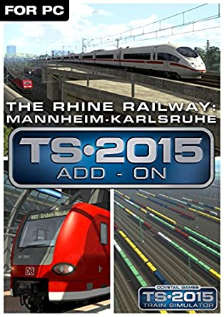 Telecharger The Rhine Railway Mannheim – Karlsruhe Route Add-On Sur PC Avec Crack