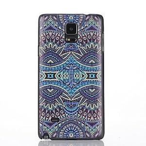 Ölgemälde Muster Kunststoff-Abdeckung für Samsung-Galaxie Hinweis4