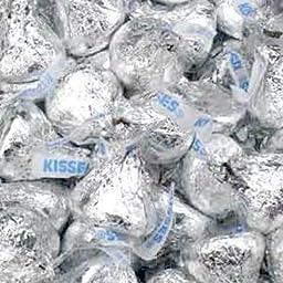 Hershey\'s Milk Chocolate Kisses, 4.2 LB Bulk Candy