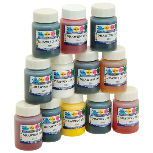 drawing-inks-assortment-set-of-12