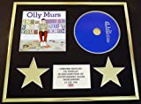 OLLY MURS/CD DISPLAY/LIMITED EDITION/COA/IN CASE YOU DIDN'T KNOW