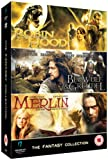Fantasy Collection (Beowulf & Grendal/Merlin & The Book Of Beasts/Robin Hood: Beyond Sherwood Forest) [DVD]