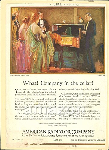 antique-print-american-radiator-company-in-the-cellar-1923-advertisement-aii-846