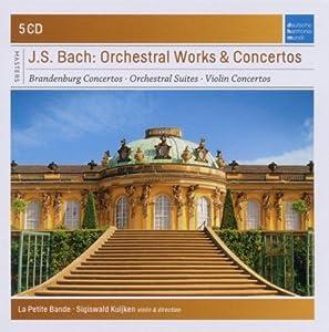 Bach : Oeuvres orchestrales et concertos (Coffret 5 CD)
