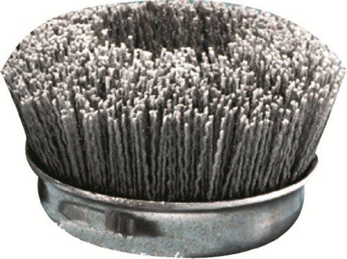 United Abrasives/SAIT 04380 1-Inch Nylon End Brush with 120X, 12-Pack