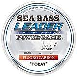 東レ(TORAY) シーバスリーダー パワーゲームフロロ 30m 20lb