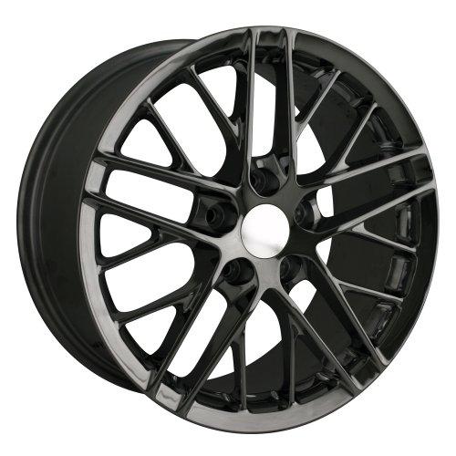 Detroit Style 845 (Black) Wheels/Rims 5x120.7 (845 9161B) Automotive