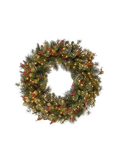 "National Tree Company 48"" Wintry Pine Wreath"