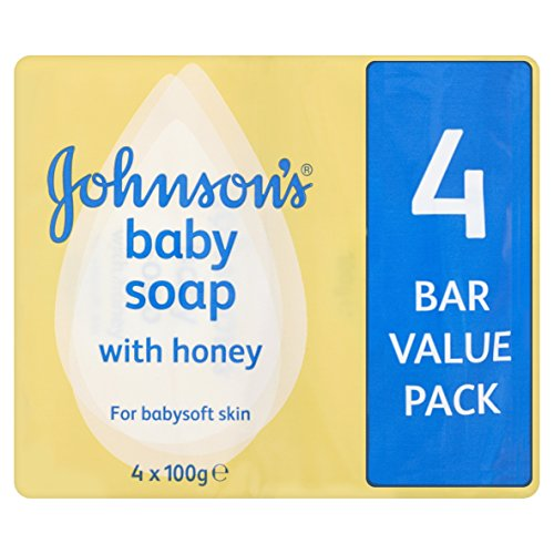 johnsons-baby-soap-with-honey-4-x-100g-bars