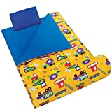 Olive Kids Under Construction Sleeping Bag
