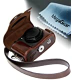 "MegaGear ""Ever Ready"" Protective Leather Camera Case, Bag for Nikon COOLPIX P7700, Nikon COOLPIX P7800"