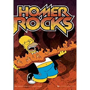 HOMER SIMPSON ROCKING OUT