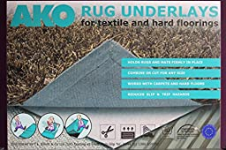 Dual Fleece Rug Underlay Suitable For All Floors Including Carpet, Laminate & Vinyl Packs - 7 Sizes