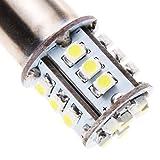 Lighting EVER 1156 BA15S LED Car Lights, Turning Lights, Tail Lights, Daylight White, Pack of 2 Unitsby Lighting EVER
