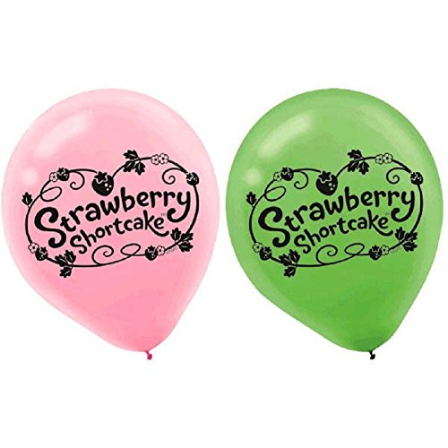 6 count Strawberry Shortcake Balloons
