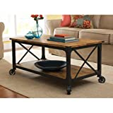 Homes and Gardens Rustic Country Coffee Table, thumbnail
