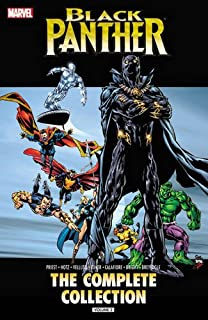 Book Cover: Black Panther by Christopher Priest: The Complete Collection Vol. 2