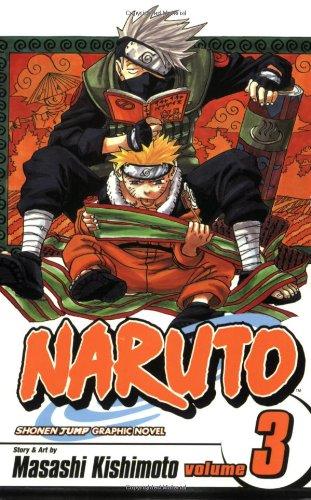 NARUTO -ナルト- コミック3巻 (英語版)