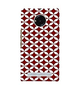PrintVisa Circles Pattern 3D Hard Polycarbonate Designer Back Case Cover for YU Yuphoria