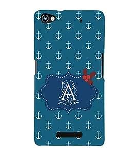 EPICCASE anchor of A Mobile Back Case Cover For Micromax Canvas Hue 2 A316 (Designer Case)