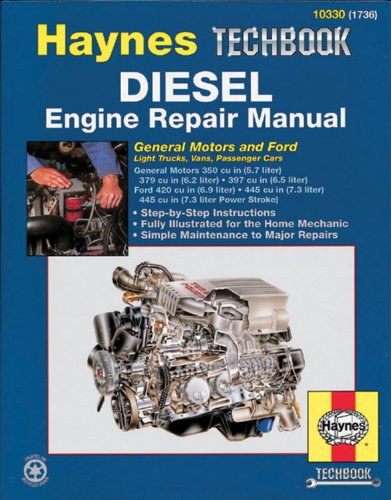 Diesel: General Motors And Ford (Haynes Repair Manual) front-531185