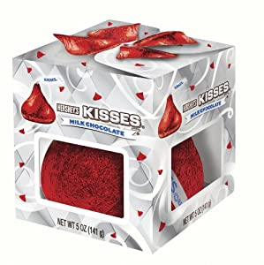 Hershey's Holiday Milk Chocolate Kiss, 5-Ounce Packages (Pack of 6)