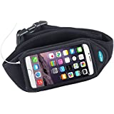 """Running Belt for iPhone 6 and iPhone 6S (4.7"""") - Also fits iPhone 5, iPhone 5s, iPhone 5c, Galaxy S4, Galaxy S3 and more"""