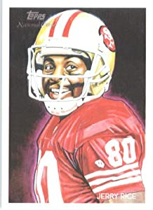 2009 Topps National Chicle #C152 Jerry Rice San Francisco 49er